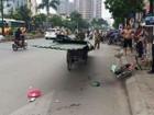 Xe thô sơ tại Hà Nội lại làm một người tử vong