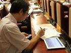 Hà Nội trang bị máy tính bảng cho lãnh đạo sở, ngành