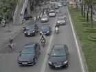 Mỗi ngày có khoảng 25% xe lấn làn buýt nhanh là xe biển xanh