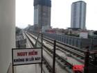 Ban quản lý đường sắt lên tiếng vụ ray tàu Cát Linh - Hà Đông bị rỉ sét
