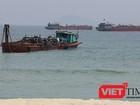 Thay cán bộ, đổi tư vấn giám sát vì để trộm cát ở biển Cửa Đại!