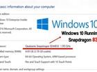 Sắp có máy tính Windows 10 dùng chip Snapdragon 835