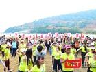 Đà Nẵng: Ngàn sinh viên kêu gọi không mang túi ni-lông lên Sơn Trà