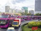 Đà Nẵng: Chưa cho phép chạy thử nghiệm xe buýt 2 tầng mui hở
