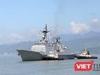 Cận cảnh uy lực của bộ đôi tàu khu trục Hải quân Hàn Quốc tại Đà Nẵng