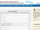 Chính phủ lập website xử lý mọi vấn đề doanh nghiệp phản ánh