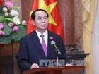 Chủ tịch nước Trần Đại Quang: Quan hệ Việt-Lào là tài sản vô giá