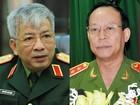 Tái bổ nhiệm 2 Thượng tướng Thứ trưởng Bộ Công an và Bộ Quốc phòng