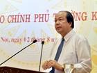 Phân định rõ nhiệm vụ của Bộ Nội vụ và VPCP trong cải cách hành chính