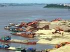 Hà Nội bắt 13 phương tiện khai thác cát trái phép