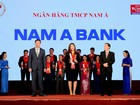 Nam A Bank 3 năm liền khẳng định vị thế thương hiệu mạnh