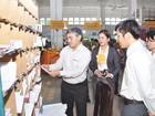 Thứ trưởng Nguyễn Minh Hồng thăm và làm việc với Bưu điện TP. Hồ Chí Minh