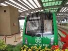Cận cảnh nhà ga, tàu mẫu đường sắt trên cao Cát Linh - Hà Đông