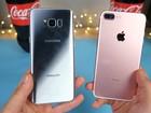 Video: Kinh hoàng màn đông đá iPhone 7 Plus và Samsung Galaxy S8