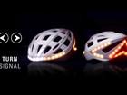 Mũ bảo hiểm có đèn tín hiệu cho người chạy xe đạp