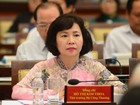 Thứ trưởng Kim Thoa chính thức bị miễn nhiệm