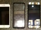 So sánh kích thước Galaxy S8 với iPhone 7 và S7 Edge (ảnh thật)
