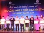 28 hợp đồng trị giá hơn 150 tỷ đồng được ký trong Techmart Hanoi 2016
