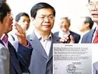 Nguyên Bộ trưởng Vũ Huy Hoàng nói gì về việc bổ nhiệm con trai?