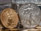 Tuần qua, giá vàng, giá bạc cùng tăng 1,5%, tỷ giá trung tâm hạ 4 đồng