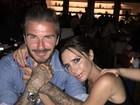 Vợ chồng Beckham đột nhiên ngôn tình, đập tan tin đồn tan vỡ