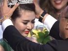 Video: Ngắm nhan sắc hotgirl Việt vừa đăng quang Nữ hoàng sắc đẹp toàn cầu 2016