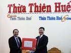 Bộ trưởng Trương Minh Tuấn thăm, chúc Tết tại tỉnh Thừa Thiên Huế