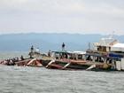 Thuyền chở du khách Trung Quốc bị mất tích tại Malaysia