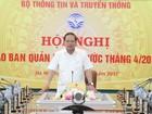 Bộ trưởng Trương Minh Tuấn: Không cấm phát biểu chính kiến trên Facebook