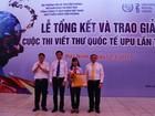 Việt Nam 2 lần giành Giải Vàng sau 30 năm tham gia UPU quốc tế