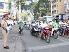 TP. HCM thí điểm dùng loa tuyên truyền an toàn giao thông