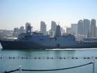 Tàu đổ bộ hải quân Mỹ cập Cảng Cam Ranh