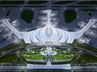 """""""Hoa sen cách điệu"""" được chọn cho thiết kế sân bay Long Thành"""
