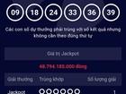 Ngày đầu năm, đã có người trúng gần 49 tỷ đồng giải xổ số Vietlott