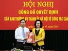 Giám đốc Sở KHĐT làm Chánh Văn phòng Thành ủy Hà Nội