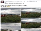 Triệu tập người tung tin máy bay rơi ở Nội Bài để câu like