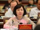 Ban Bí thư đề nghị Thủ tướng miễn nhiệm Thứ trưởng Hồ Thị Kim Thoa