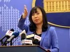 Việt Nam phản đối Trung Quốc bắn đạn thật ở quần đảo Hoàng Sa