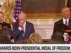 Video: Phó tổng thống Joe Biden bật khóc