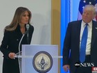 Video: Vợ chồng tỷ phú Trump mở tiệc trưa, cảm ơn người ủng hộ ở Washington