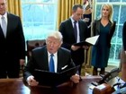 Tổng thống Trump ký sắc lệnh xây tường dọc biên giới Mỹ-Mexico