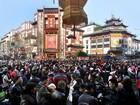 Chùm ảnh hàng triệu người Trung Quốc đi chơi xuân ngày tết Nguyên Đán