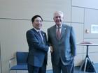 Ngoại trưởng Mỹ mời Bộ trưởng Ngoại giao Phạm Bình Minh thăm Hoa Kỳ