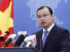 Việt Nam phản ứng Trung Quốc xây dựng trên đảo nhân tạo phi pháp ở Biển Đông