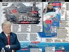 """Mỹ tung """"hạm đội rất mạnh"""" áp sát, bán đảo Triều Tiên căng như dây đàn"""