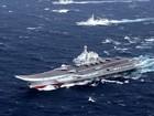 Tàu sân bay Trung Quốc bị chiến cơ Đài Loan bám sát
