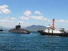 Hình ảnh 3 tàu ngầm Kilo trực chiến ngày Tết tại Cam Ranh