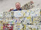 Công nghệ tương lai: Gạch sản xuất từ nhựa phế thải