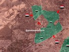 Quân đội Syria phóng tên lửa, tấn công ác liệt phiến quân ngoại ô Damascus (video)