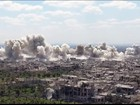 Chiến sự Syria: Quân Assad trút bão lửa hủy diệt phiến quân ở ngoại ô Damascus (video)